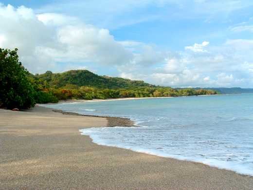 One Of Thousands Beautiful Remote And Undeveloped Beaches In Costa Rica