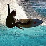 Surfing in a 40ft Catamaran