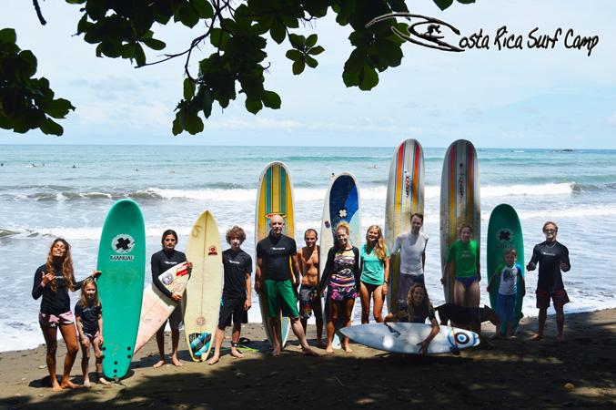 Costa Rica Surf Camp 1