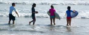 Playa Guiones Surfing