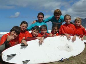 ISLS Teen Spanish and Surf Camp 1