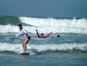 Women's Quest Surf and Yoga Retreat 1