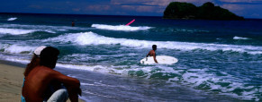 Playa Cocles Surfing