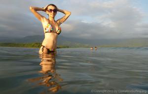 Sexy Costa Rica bikini girl