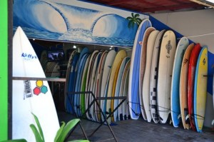 Kelly's Surf Shop in Tamarindo 1